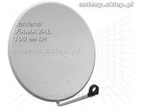 antena satelitarna 100 cm FAMAVAL LH, jasna-szara