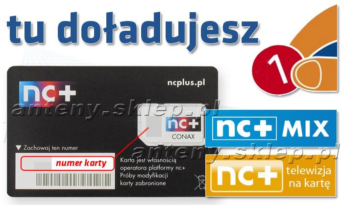 Nc Plus Na Karte.Doladowanie Karty Nc Mix Lub Nc Tnk Na Okres 1 Go M Ca Na Pakiet Domowy Hd