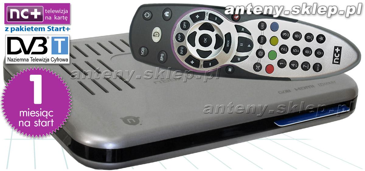 Dekoder Nc Na Karte.Nc Telewizja Na Kartę Dekoder Adb 2849 Hd Karta 1 M C Pakiet Start