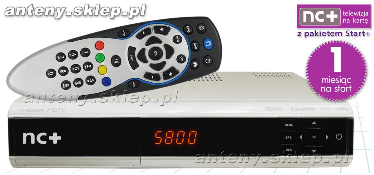 Dekoder Nc Na Karte.Nc Telewizja Na Kartę Dekoder Adb 5800s Hd Karta 1 M C Pakiet Start