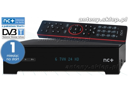 Dekoder Nc Na Karte.Telewizja Nc Tnk Pre Paid 1 Mc Combo Pace Hds7241 Na Własność