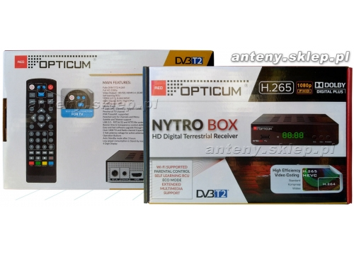 dekoder DVB-t  OPTICUM NYTRO BOX